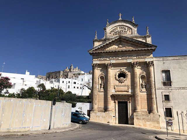 Ostuni: Iglesia del Carmen