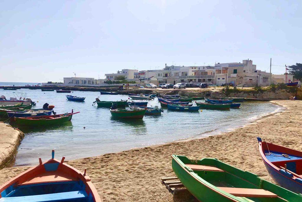 Playas de Polignano a Mare