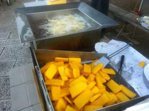 Que comer en Bari: sgagliozze