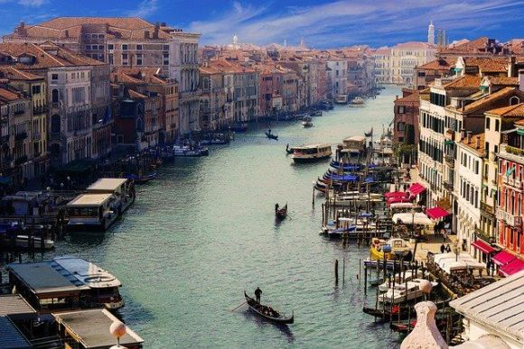 la ciudad del norte de Italia más bonita: Venecia