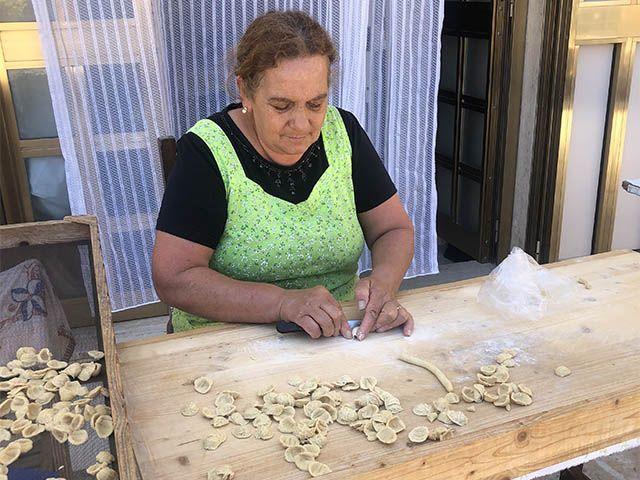 Que comer en Puglia: ¡orecchiette!