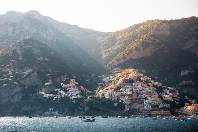 Italia en 30 días, parada en Costa Amalfitana