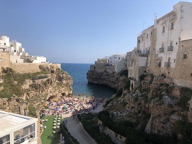 Playas en la zona de Bari