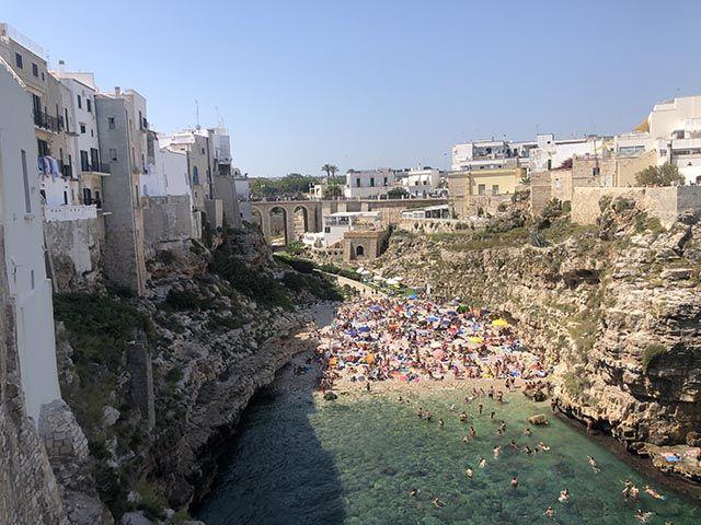 Playas de Bari y alrededores: Lama Monachile