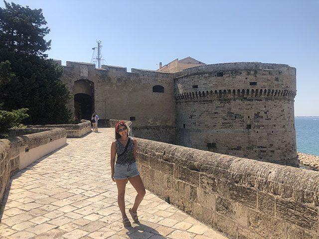 El castillo que ver en Taranto