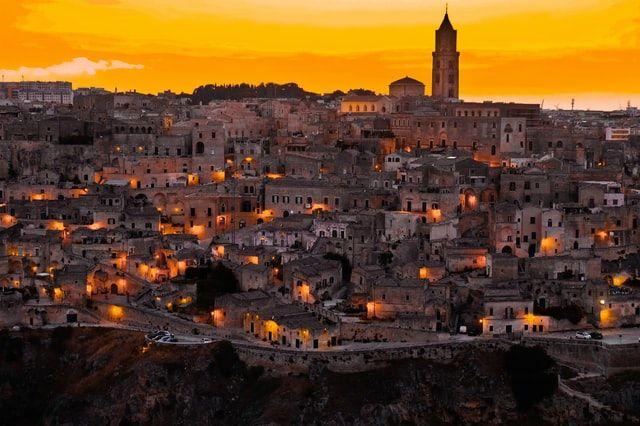 Vistas que ver en Matera
