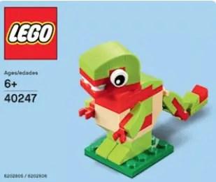 Gratis: Dinosaurio de Lego y Evento