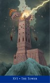 The Tower from Llewellyn's Classic Tarot
