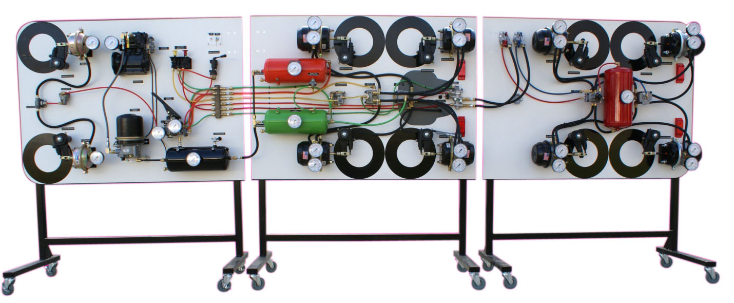 hight resolution of air brake training systems
