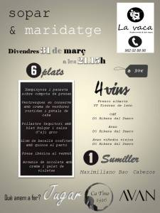 sopar & maridatge