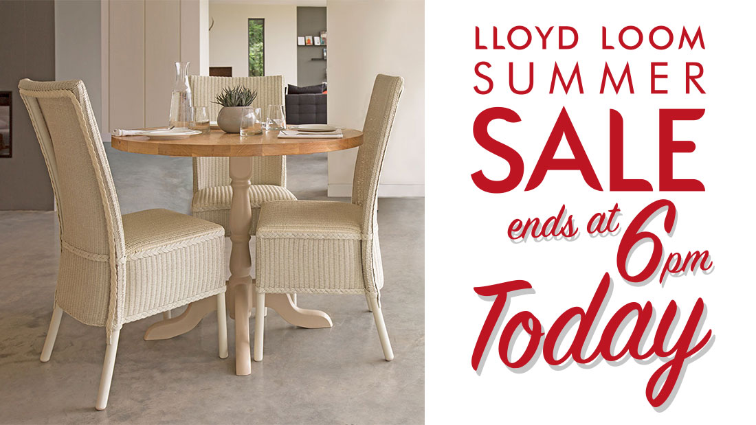 lloyd loom furniture sale ends today lloyd loom manufacturing. Black Bedroom Furniture Sets. Home Design Ideas