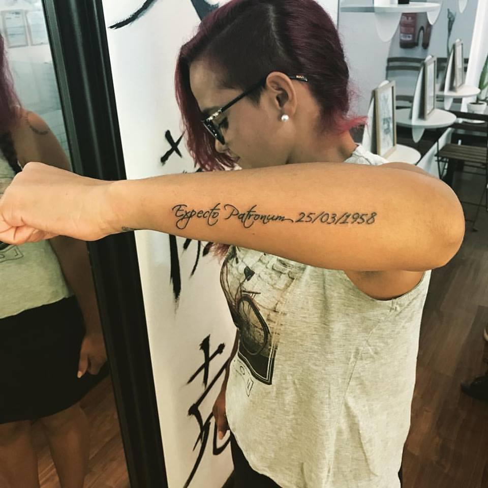 Tatuaje Lineas Brazos Lloydstattoo Ink
