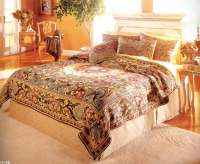 Flemish Tapestries and bedspreads at Linen, Lace and Patchwork