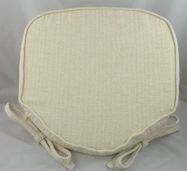 chair bottom pads red leather wing recliner seat for kitchen and dining chairs savannah cream chenille pad