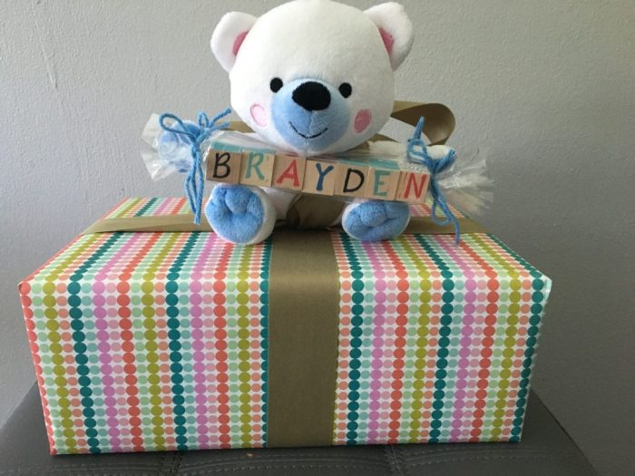 baby shower, gift wrapping, custom gifts