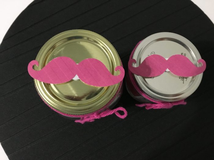 Maison Jar Mustache Valentines, teachers gifts