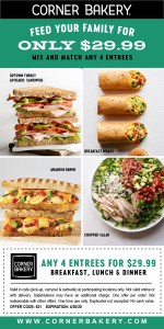 eblast, eclub, email promo, family meals