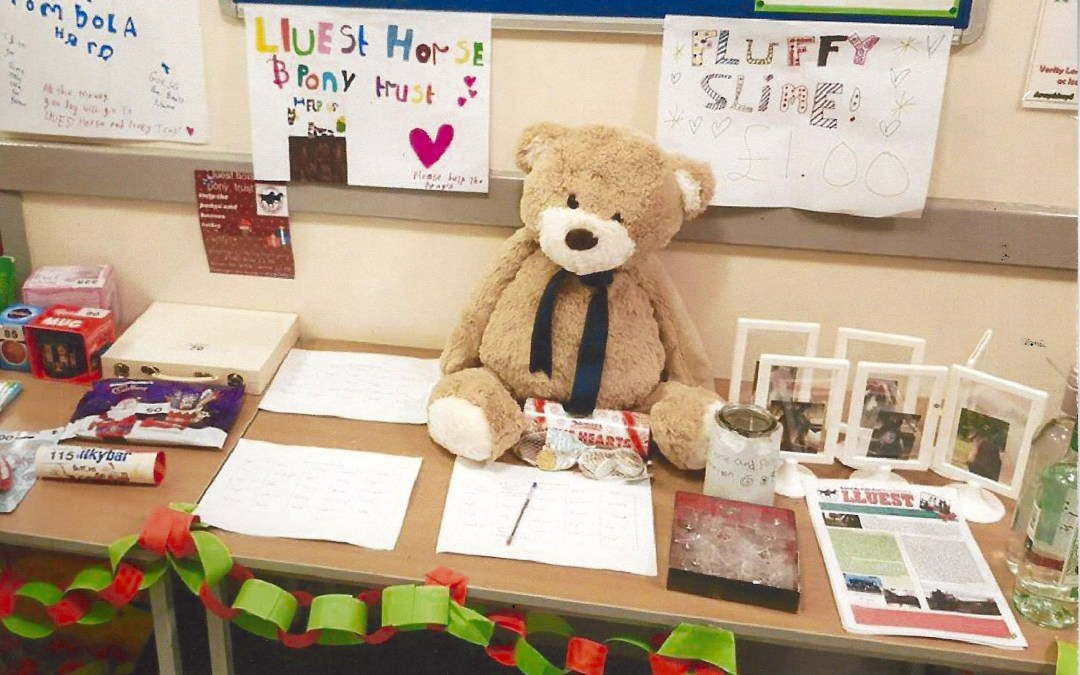 Pupils raise over £130 for Lluest