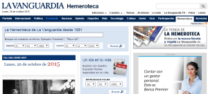 Hemeroteca La Vanguardia