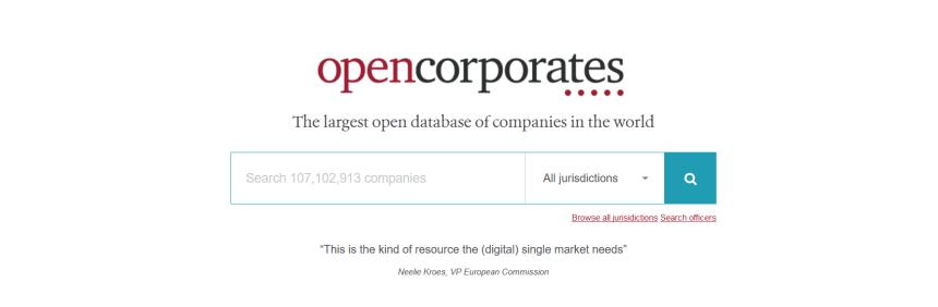 'OpenCorporate