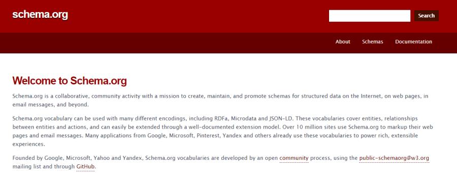 schema es una clase de metadatos