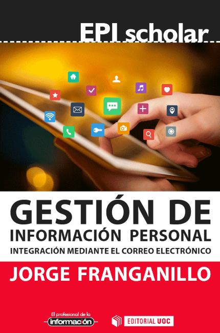 Cubierta del libro Gestión de la Información Personal