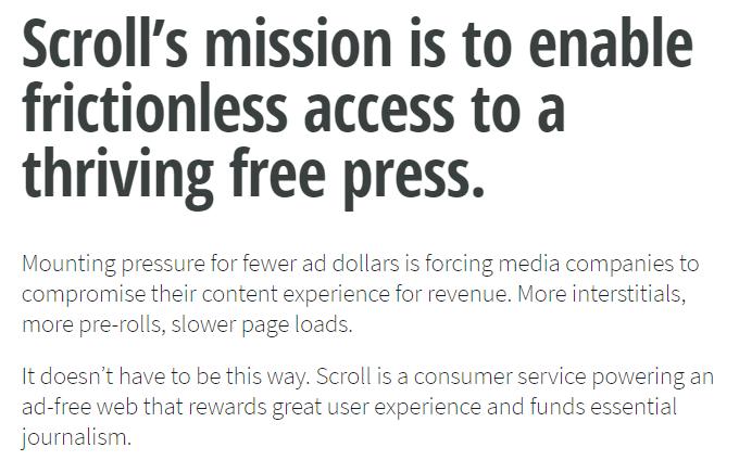 Scroll: empresa propietaria de Nuzzel