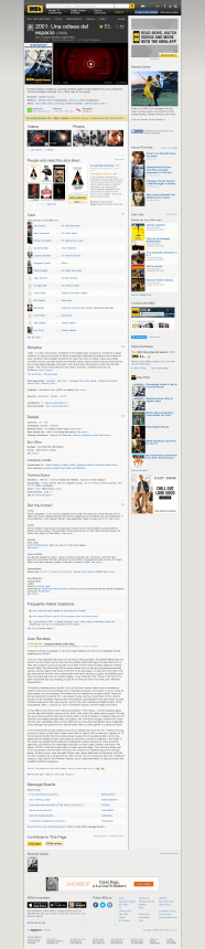 Ficha informativa de un filme en IMDB