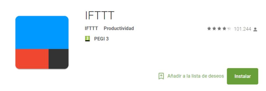 IFTTT en Google Play