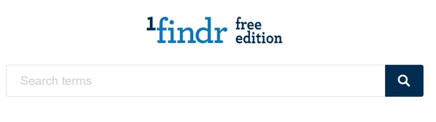 1findr: buscador académico