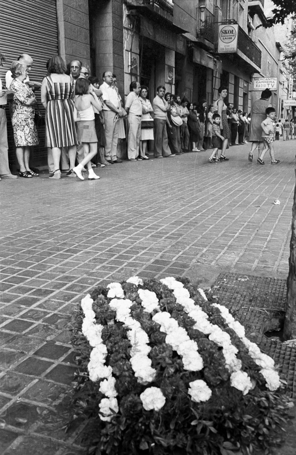Carrer Entença, Lluis María Xirinacs, Jordi Pujol, 1976