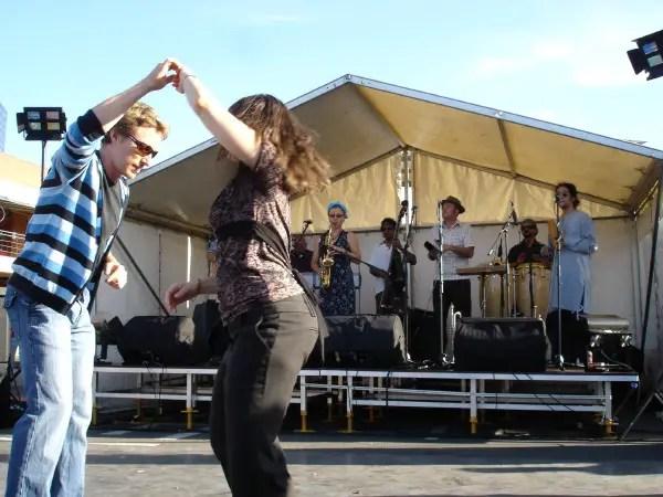 Vic Market Dancing
