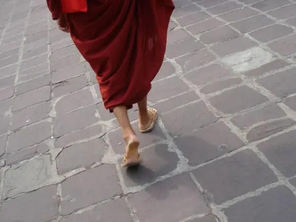 Walk like a Monk
