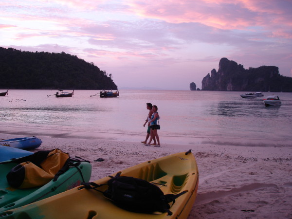 Sunset on Phi Phi