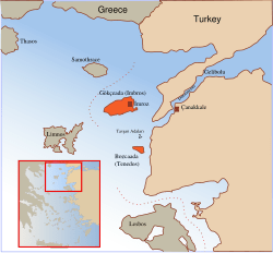 Aegean Map