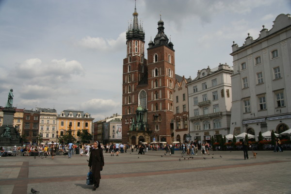 Largest Square in Europe??