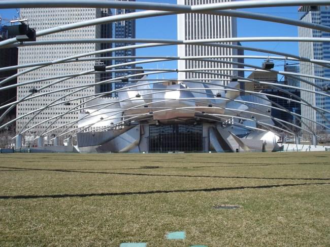 Millennium Park - Frank Gehry Bandshell