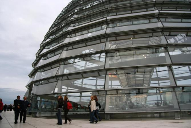 Top o' the Reichstag