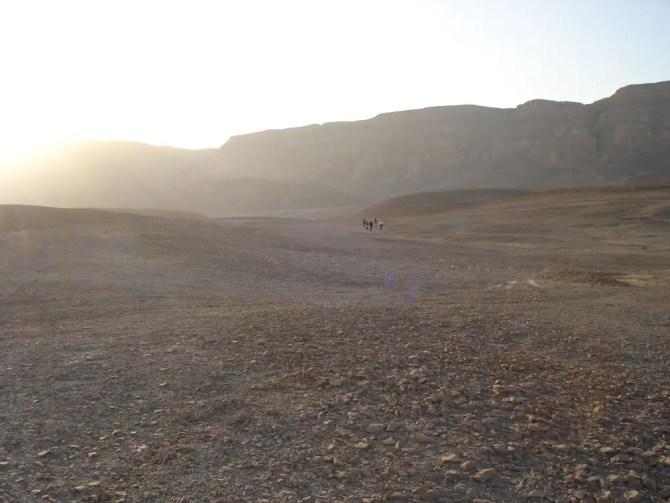Hiking through the Arava Desert