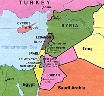 Israel & her neighbors
