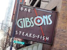 Gibsons Steakhouse Rush Street