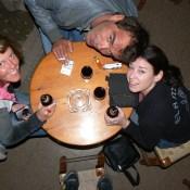 Swedish Couchsuring Friends in Nerja, Spain