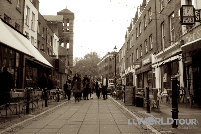 Exmouth in Clerkenwell