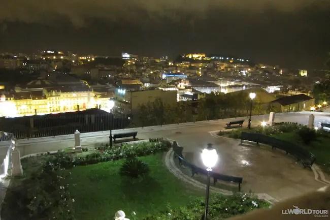 Lights over Lisbon