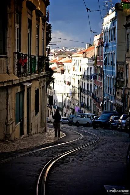 Lisbon Tram Tracks