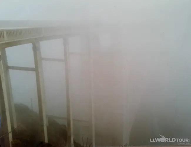 Bixby Bridge Fog