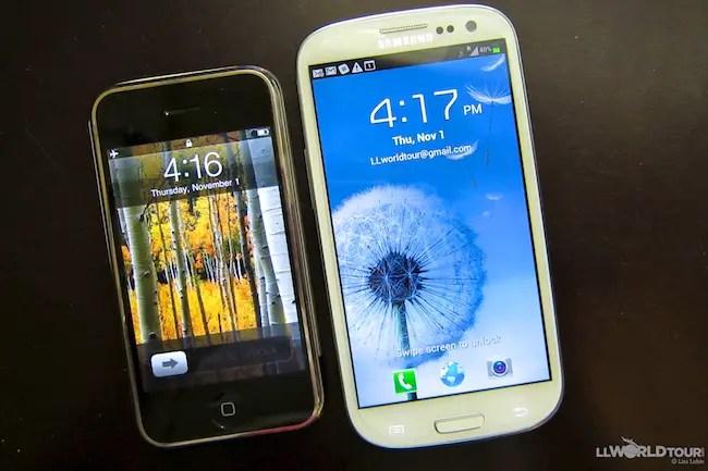 iPhone vs Galaxy SIII