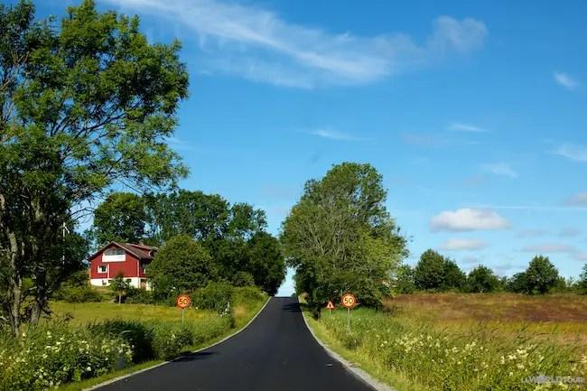 Drive to Fjällbacka