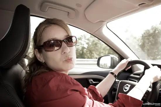 LL Drives a Volvo