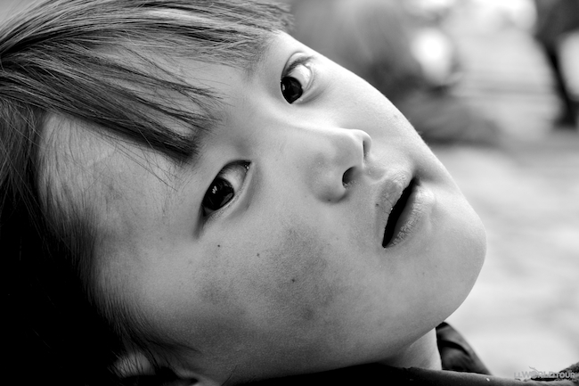 Little Girl Bhutan